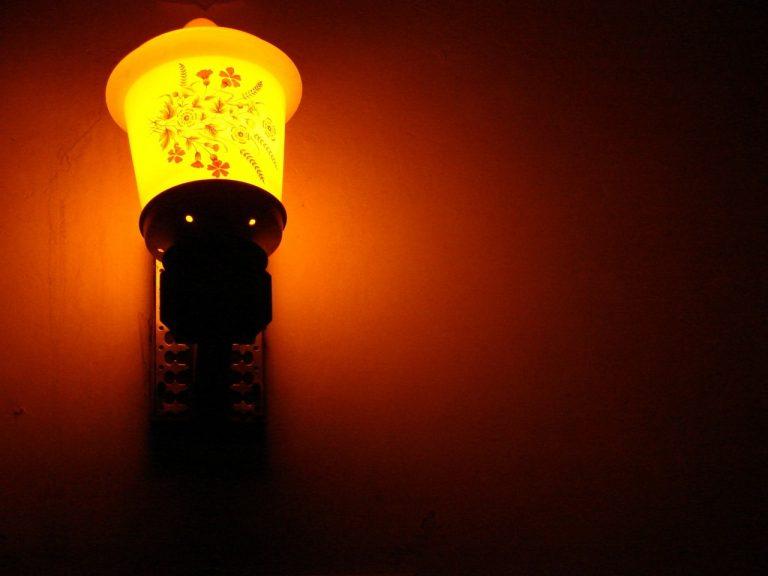 Arnżacja z wykorzystaniem oświetlenia dekoracyjnego